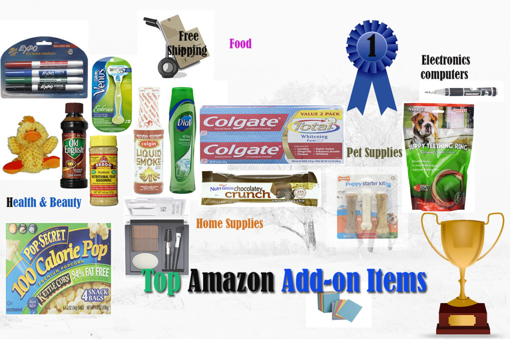 'amazon add-on items' from the web at 'http://mytop10bestsellers.com/wp-content/uploads/2014/08/Addon-items.jpg'