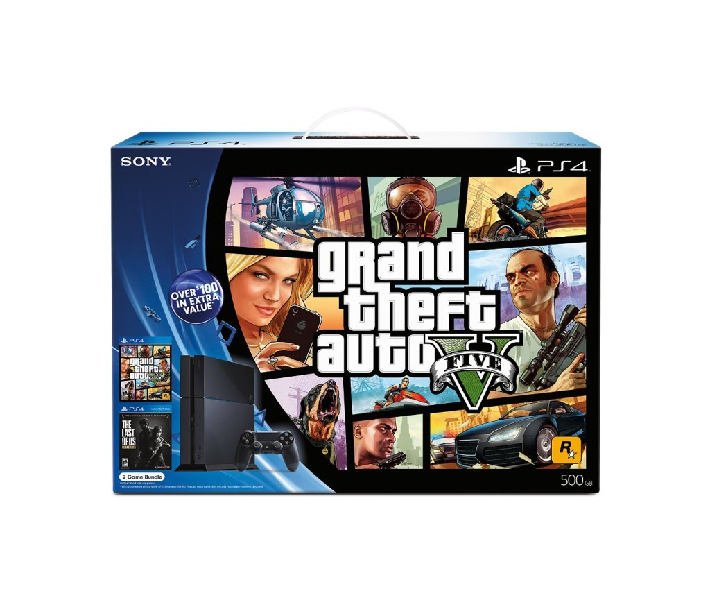 gta 5 ps4 bundle