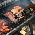 Best Instant Read Fork Digital Meat Thermometer