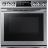 samsung slide in gas range