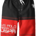U.S. Polo Association Big Boys Swim Trunks