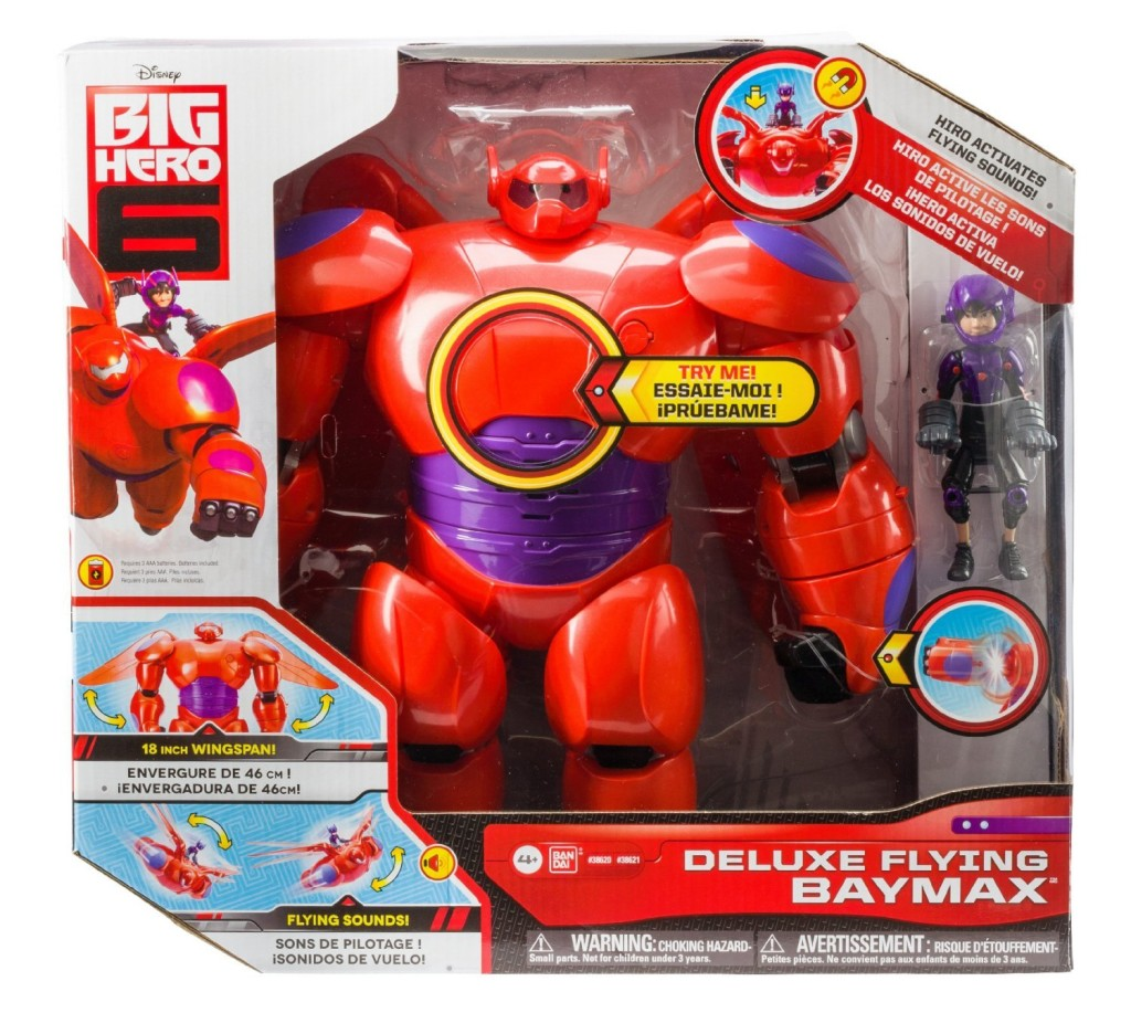 Big hero 6 deluxe flying baymax