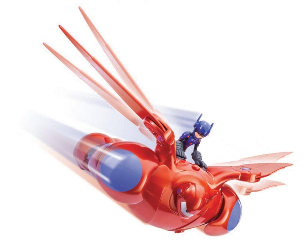 Big hero 6 deluxe flying baymax