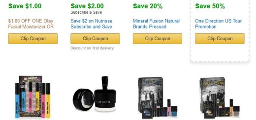 Makeup coupons