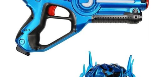 Legacy Toys Laser Tag Blaster and Nano Bug Target Set