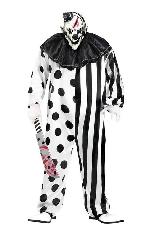 scary clown costumes