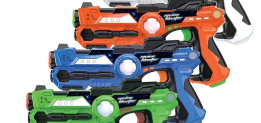 New Laser Tag Guns