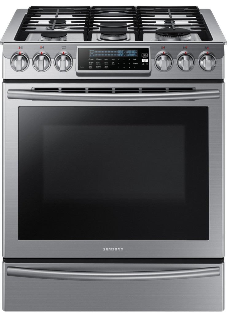 Samsung Slide In Gas Range Nx58h9500w Review